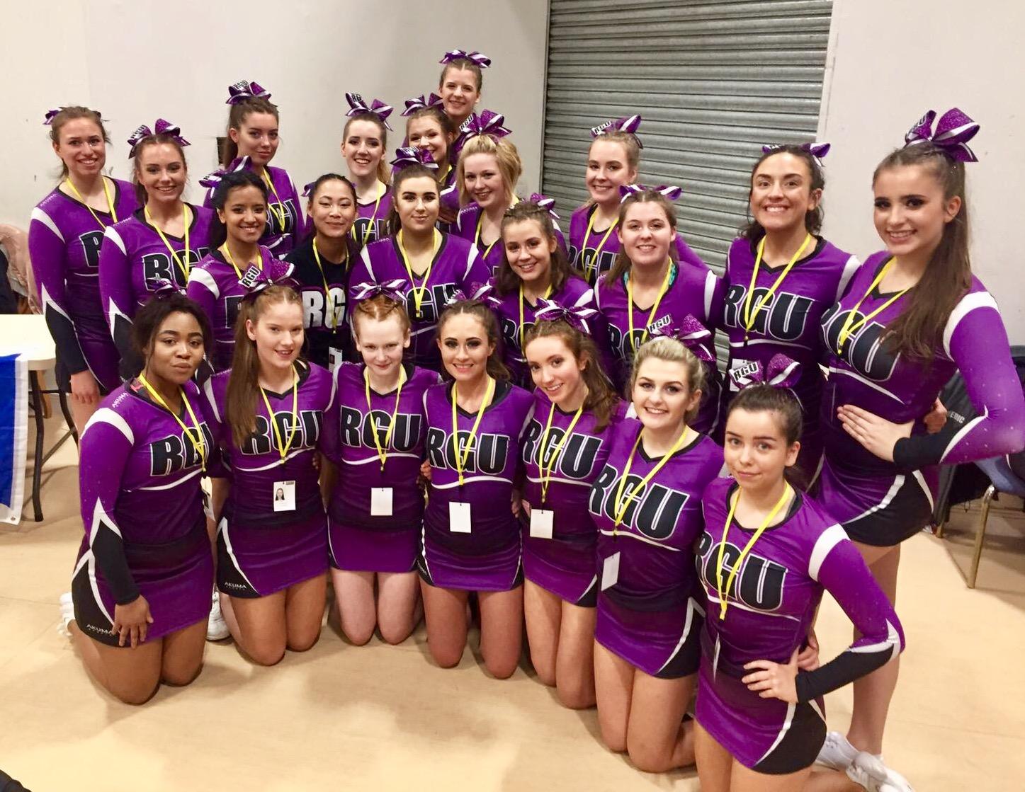 RGU Cheerleading Squad