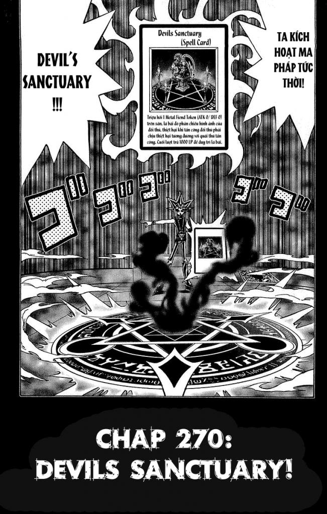 YUGI-OH! chap 270 - devil sanctuary trang 2