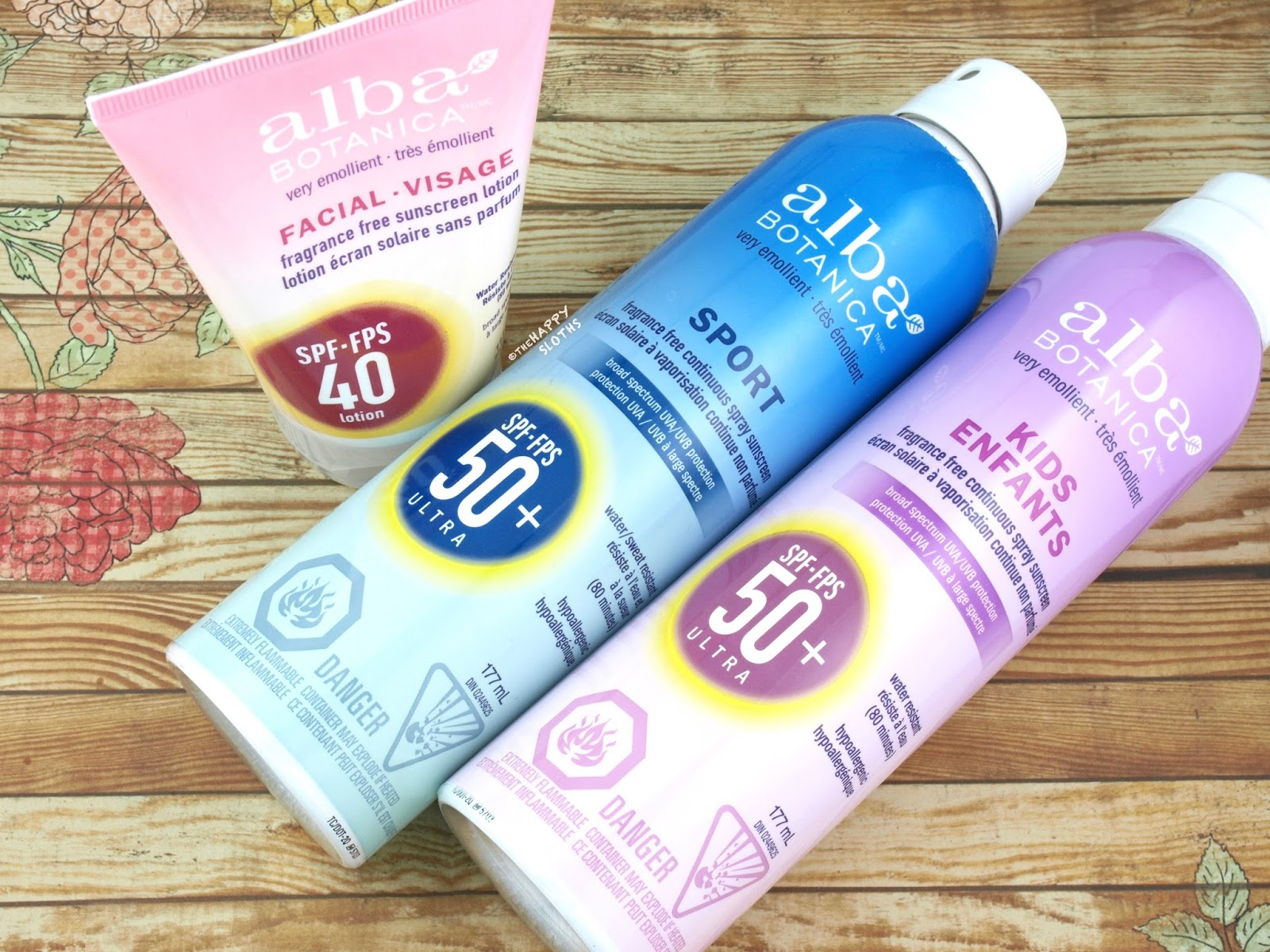 Alba Botanica Sunscreen | Review + CLOSED Giveaway | The