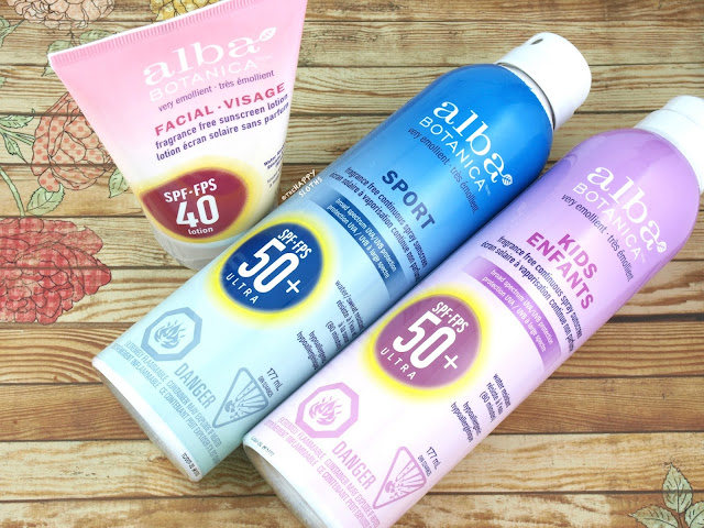 Alba Botanica Sunscreen | Review + Giveaway