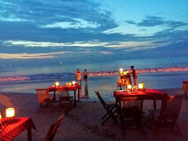 рестораны на пляже в джимбаране