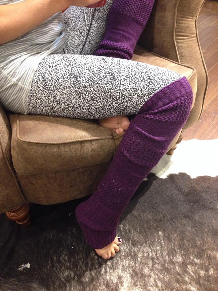 lululemon tip to toe leg warmer