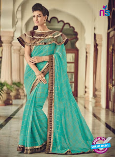 Formal Saree with short Cape