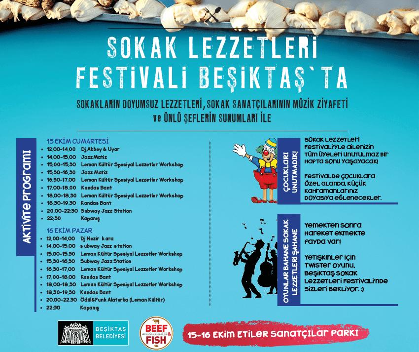Beşiktaş Sokak Lezzetleri Festivali