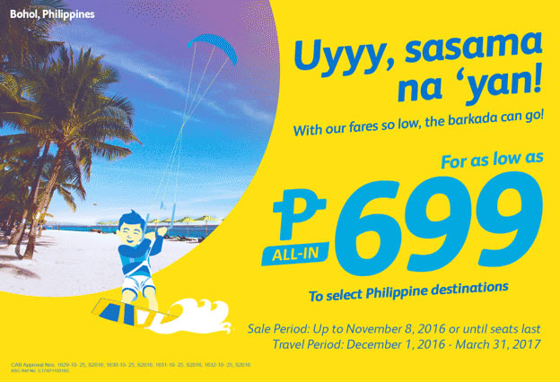 Cebu Pacific Seat Sale 699