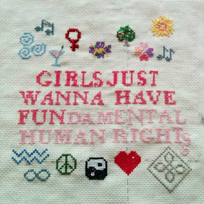 Girls just wanna have FUNdamental rights.