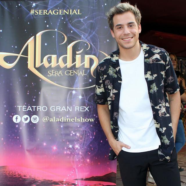 Fernando Dente nos cuenta como @aladinelshow #SeraGenial