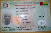 Image result for novo bilhete de identidade de cedeao na guine bissau