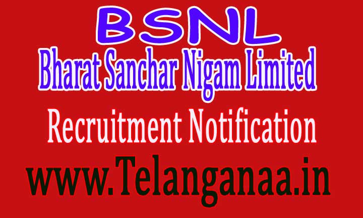 BSNL (Bharat Sanchar Nigam Limited) Recruitment Notification 2016