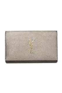 http://www.laprendo.com/SG/products/40673/SAINT-LAURENT/Saint-Laurent-Monogram-Metallic-Grey-Pochette