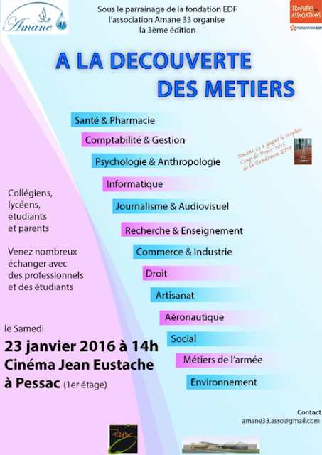 Association des parents d 39 el ves fcpe du lyc e max linder for Salon studyrama bordeaux