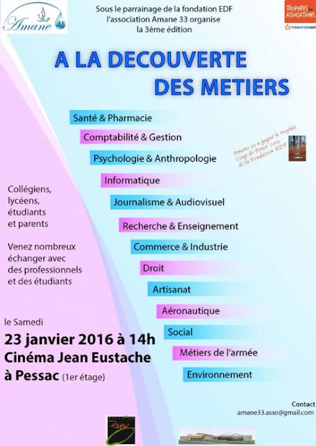 Association des parents d 39 el ves fcpe du lyc e max linder for Salon studyrama bordeaux
