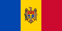 Logo Gambar Bendera Negara Moldova PNG JPG ukuran 200 px