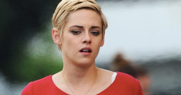 b7d0313115 StarrLab  Kristen Stewart leaves onlookers breathless as she dons chic red  dress while playing Jean Seberg