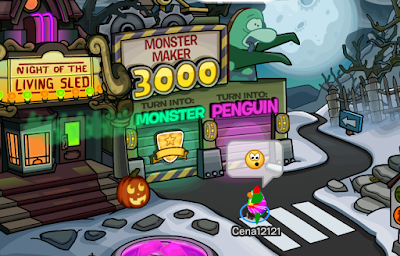 Club Penguin Halloween Party 2016 Cheats