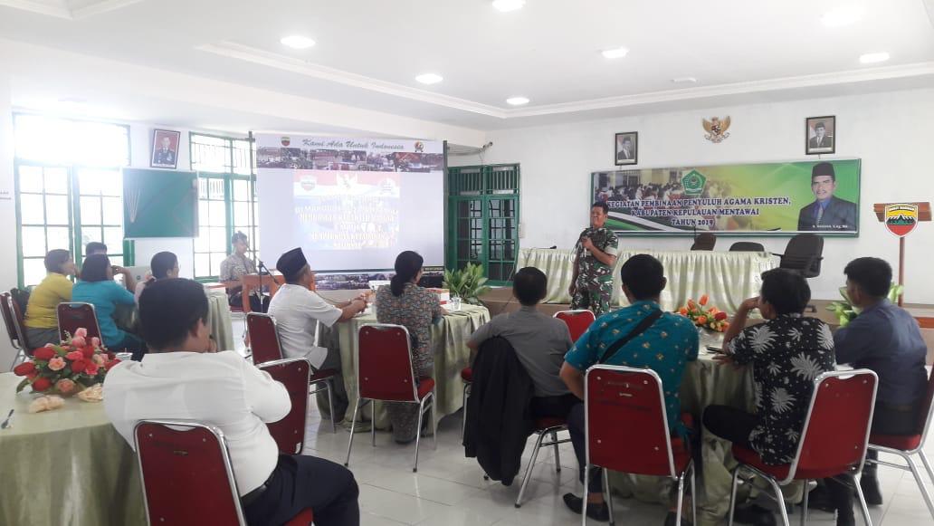 Tanami Sikap Keberagaman di Tengah Perbedaan, TNI Puji Toleransi Antar Umat Beragama di Mentawai