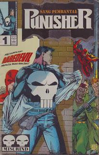 Komik Marvel Punisher Sang Pembantai 1