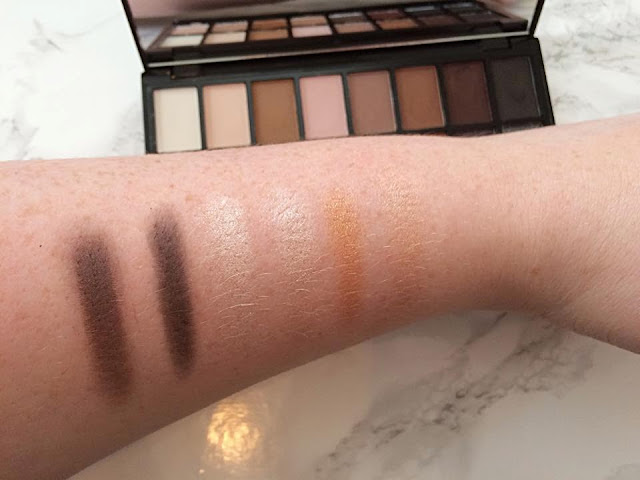 Makeup Revolution Iconic Pro 1 swatches