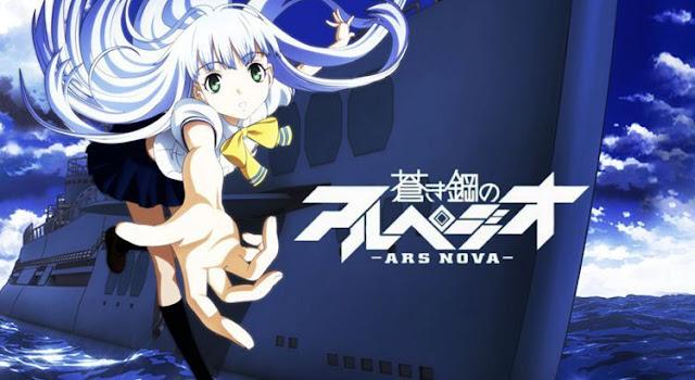 Aoki Hagane no Arpeggio : Ars Nova Episode BD (1-12) Subtitle Indonesia