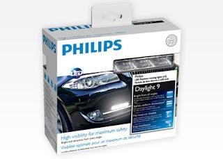 Światła do jazdy dziennej LED Philips DayLight 9 z Biedronki