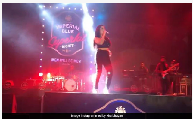 Neha-kakkar-Dance-Video-Tu-Cheez-Badi-hai-Mast-Mast-viral-video- Social-Media-SANATA-NEWS