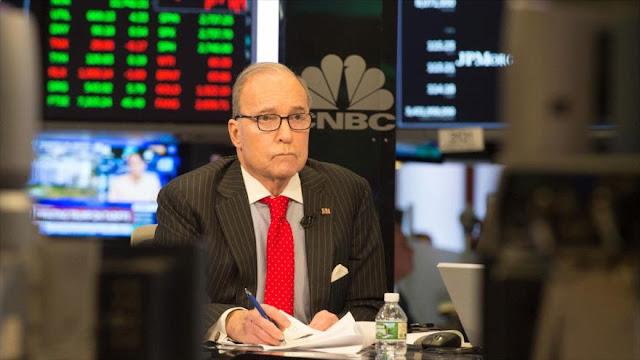 Trump elige a una estrella de TV como su nuevo asesor económico