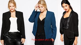 blazer plus size