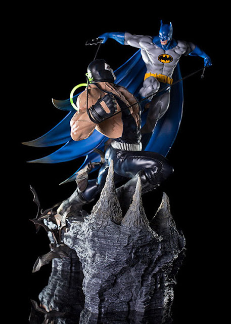 osw.zone Iron Studios Batman vs. Bane Battle 1: 6 Diorama