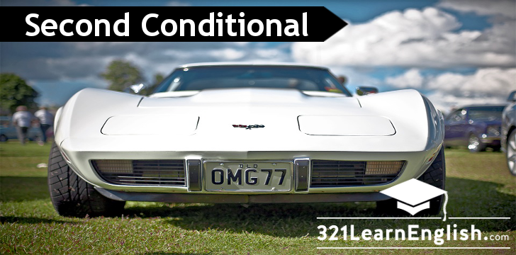 Learn how to form the second conditional in English used to talk about 'impossible' or improbable situations with structure, examples and exercises. 321LearnEnglish.com