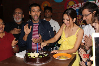 Kriti Kharbanda in Yello Happy Birthday Kriti