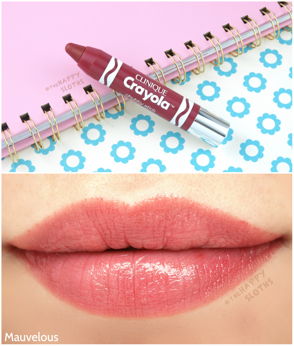 Clinique Crayola Chubby Stick Mauvelous: Review and Swatches