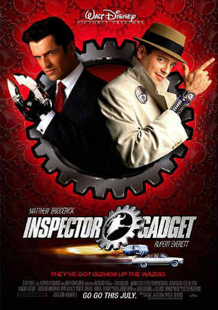 Inspector Gadget 2 2003 WEB-DL 300MB Hindi Dual Audio 480p Watch Online Full Movie Download bolly4u