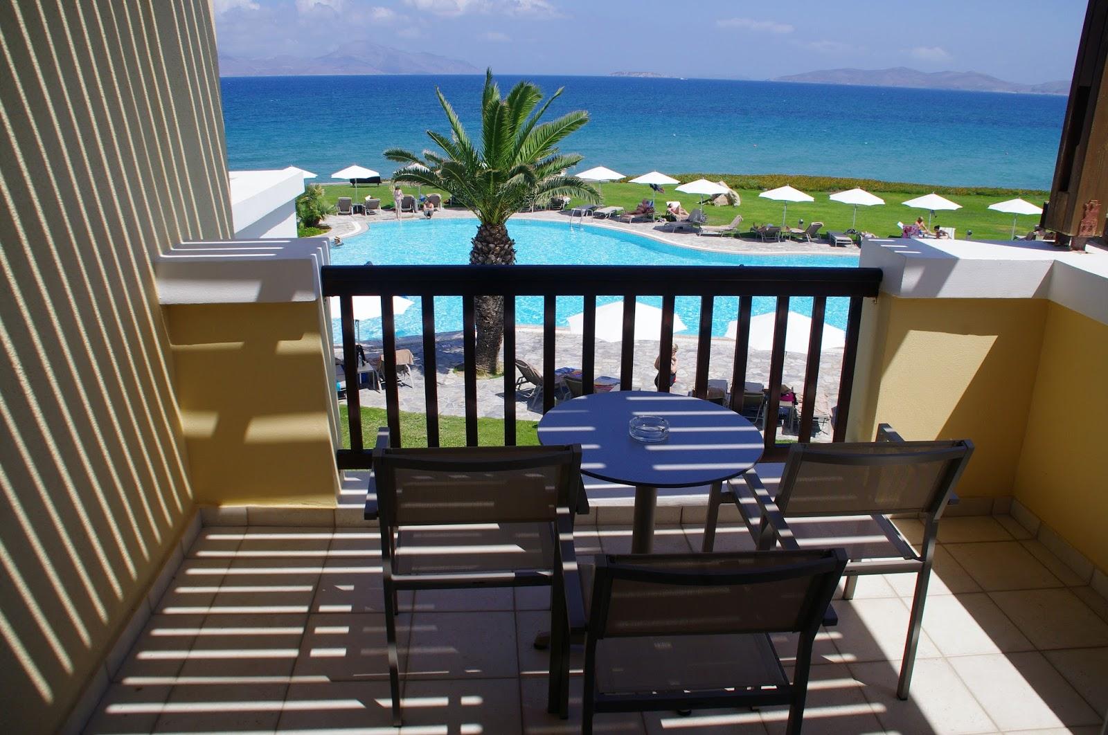 Neptune Hotel Kos Balcony with Sea Views