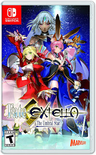 Fate/Extella: The Umbral Star Switch XCI NSP