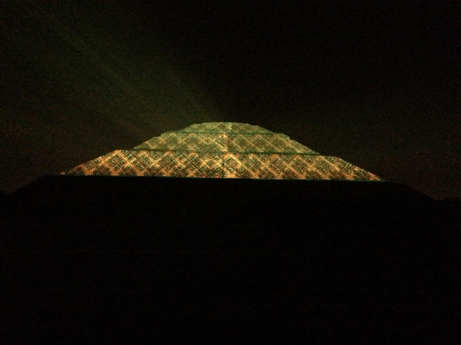 Informador de oriente se pronuncian en contra del Espectaculo de luz y sonido en teotihuacan