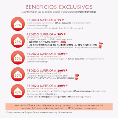 beneficios oriflame