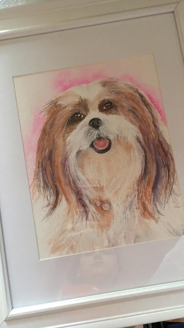 Watercolour Pet Painting