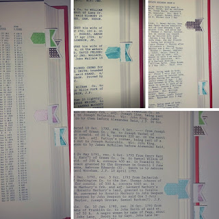 DIY Page Flags for Digital Copying-Genealogy