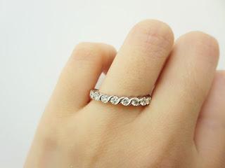 FURRERJACOT フラージャコー 鍛造 メモワール エタニティー プラチナ ゴールド ダイヤモンド エレガント 結婚指輪 婚約指輪 マリッジリング エンゲージリング
