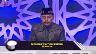 Mp3 Tilawah MTQ Antar Bangsa 2017 (H. Fathullah - Indonesia)