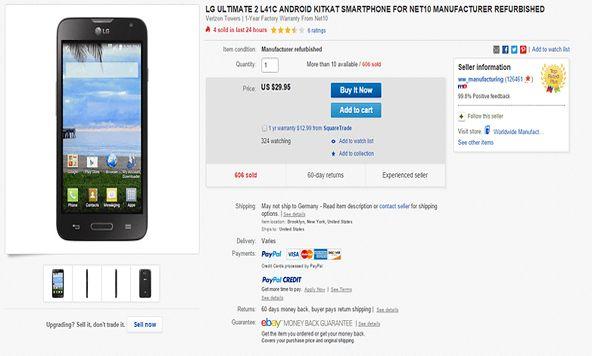 إذا كُنت قد قررت بيع هاتفك القديم، فهُناك عدد قليل من الخيارات: فإذا كان الهاتف بحالة جيدة (ولا تزال جميع الأدوات موجودة)، أفضل مكان لبيع الهاتف هو موقع eBay