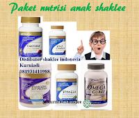 Produk shaklee penuhi vitamin dan mineral anak