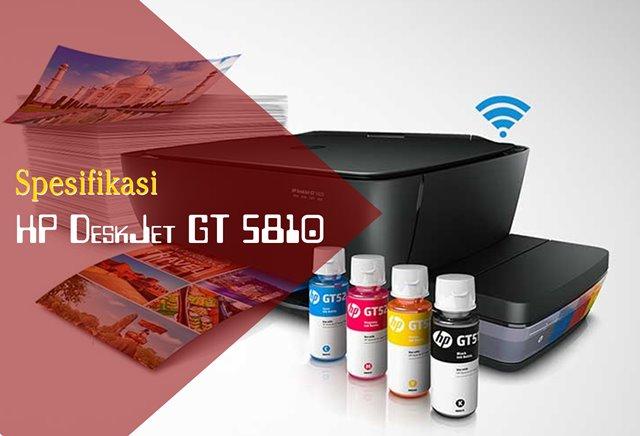 Spesifikasi HP DeskJet GT 5810