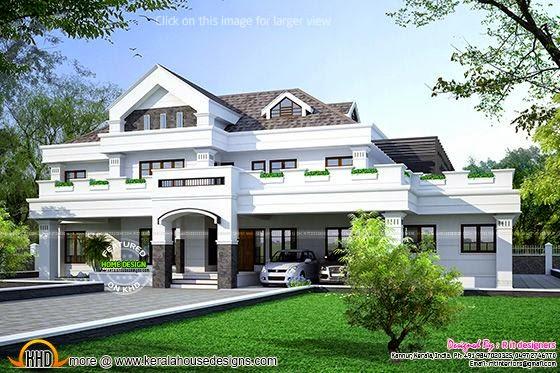 Kerala luxury house