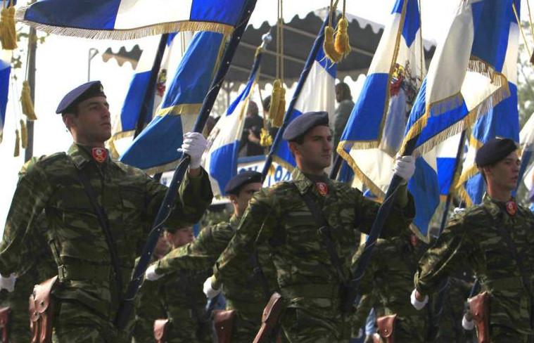 Γεωργιάδης: Το «Μακεδονία Ξακουστή» απαγορεύθηκε επειδή παραβιάζει την συμφωνία των Πρεσπών