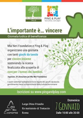 donazioni tumori bambini Mia Neri