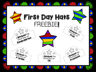 https://www.teacherspayteachers.com/Product/First-Day-Hats-FREEBIE-2638412