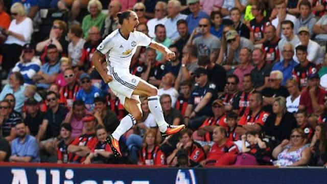 Bekap Bournemouth 3-1, Manchester United ke Puncak Klasemen Liga Inggris