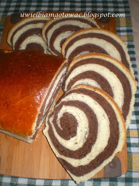 Zakręcony pszenny chlebek