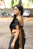 Poorna in Cute Backless Choli Saree Stunning Beauty at Avantika Movie platinum Disc Function ~  Exclusive 057.JPG